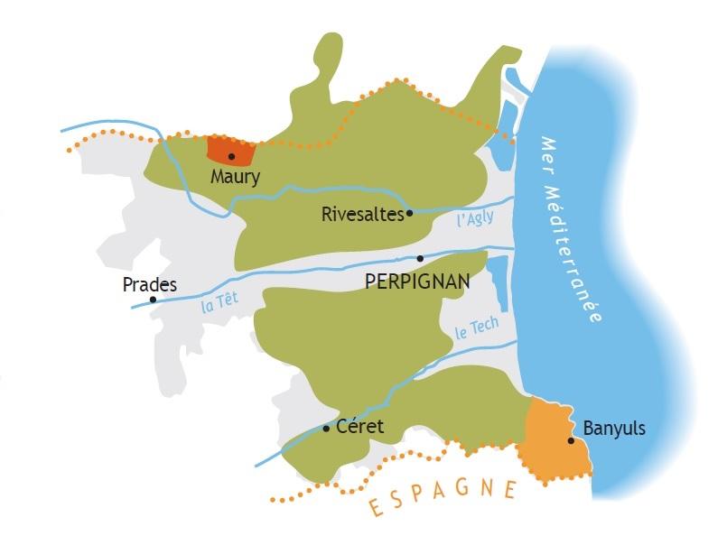 map vin doux